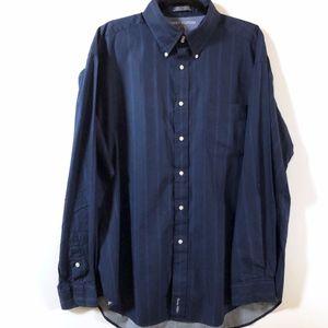Tommy Hilfiger Blue Stripe Shirt XL